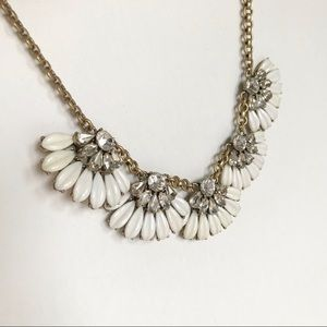 J Crew Flower Vintage Style Statement Necklace